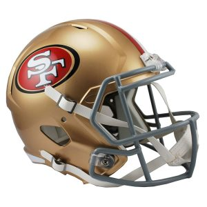 Riddell San Francisco 49ers VSR4 Full-Size Authentic Football Helmet