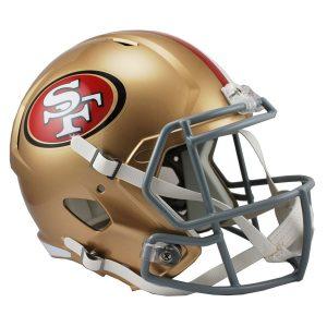 Riddell San Francisco 49ers VSR4 Full-Size Authentic Football Helmet