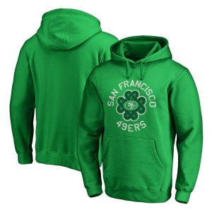San Francisco 49ers St. Patrick's Day Luck Tradition Pullover Hoodie