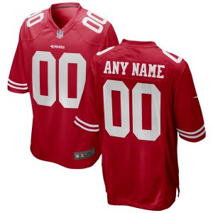Youth San Francisco 49ers Nike Red 2018 Custom Game Jersey