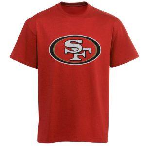 Youth San Francisco 49ers Red Team Logo T-Shirt