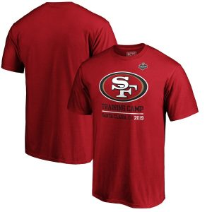 San Francisco 49ers 2019 NFL Training Camp Locale T-Shirt – Scarlet