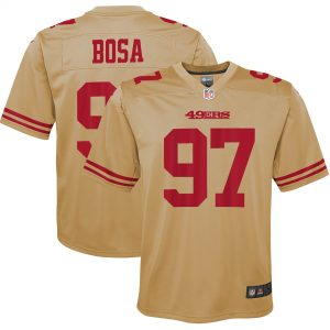 Nick Bosa San Francisco 49ers Nike Youth Inverted Game Jersey
