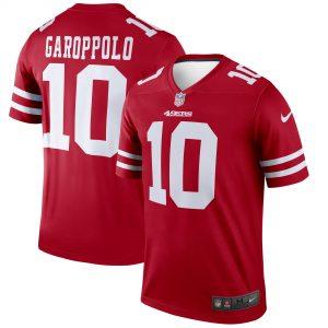 Men's San Francisco 49ers Jimmy Garoppolo Nike Scarlet Legend Jersey