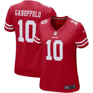 Women's San Francisco 49ers Jimmy Garoppolo Nike Scarlet Game Player Jersey